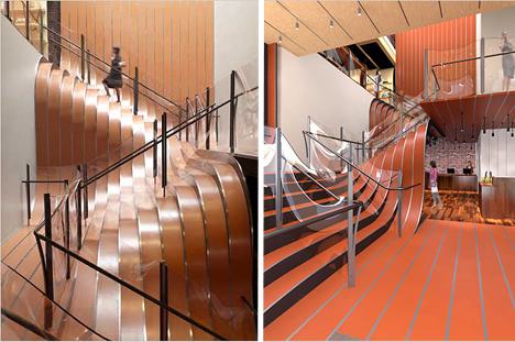 Những mẫu thiết kế cầu thang nổi bật