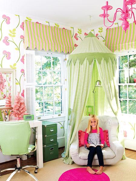 Phòng ngủ đẹp mê ly cho công chúa nhỏ