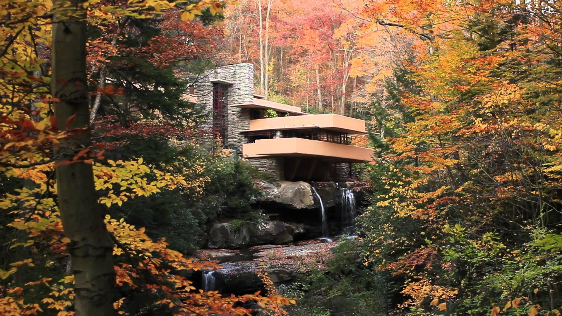 """Tòa nhà """"Fallingwater- Biệt thự trên thác"""" được bầu chọn là kiệt tác vượt thời gian trong ngành kiến trúc Mỹ"""