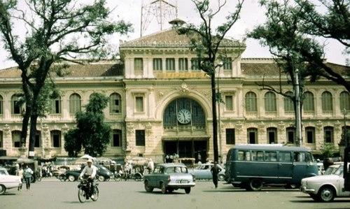 Bưu điện trung tâm Sài Gòn xưa