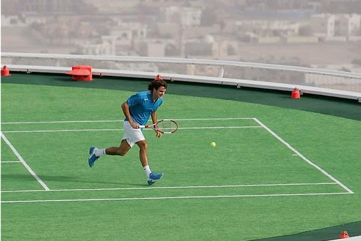 Burj Al Arab Tennis Court 9 Ki N Vi T Net
