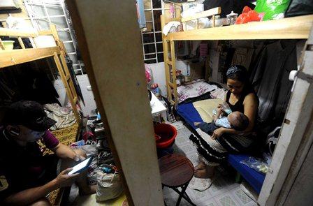 Căn hộ tại tòa nhà công nghiệp Tai Kok Tsui - Photographer: Lei Jih-Sheng