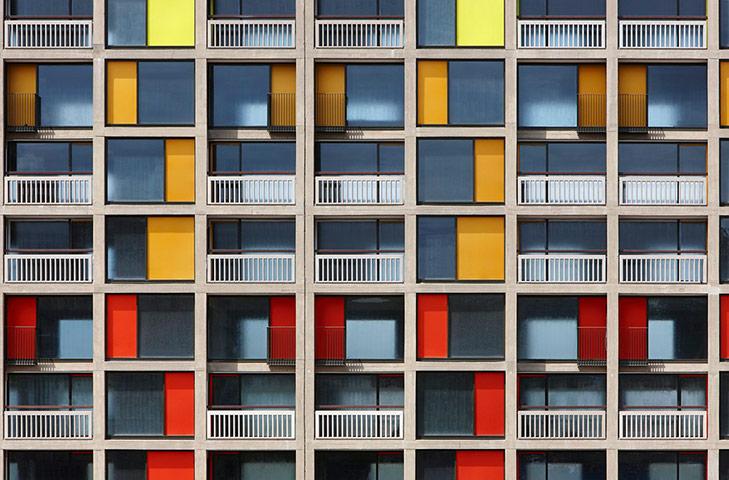 Park Hill, Sheffield, bởi Hawkins/Brown và Studio Egret West
