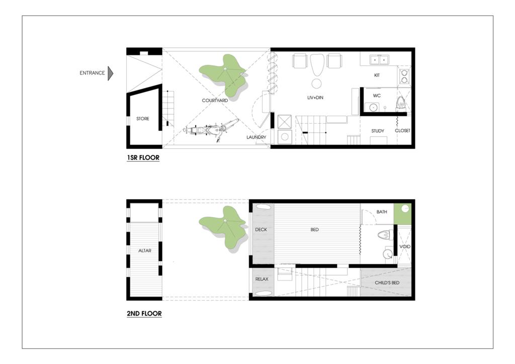 Mặt bằng / Ảnh (c) Adrei-studio Architecture