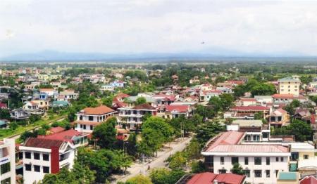 Một góc thành phố Đông Hà hiện tại