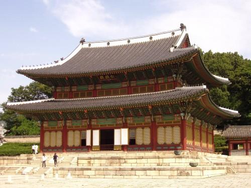 Injeongjeon_(exterior),_Changdeokgung_-_Seoul,_Korea