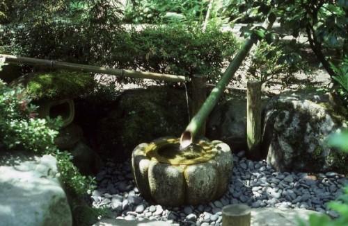 Shishi-odoshi nét đặc trưng tre nước Nhật Bản