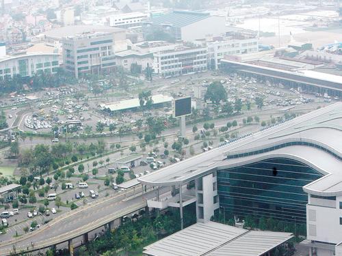 Cụm cảng hàng không Tân Sơn Nhất - Ảnh: Đào Ngọc Thạch