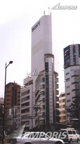 Nhà tháp Sony, Osaka. Kts. Kisho Kurokawa / Công trình biểu hiện cho sự cộng sinh giữa cong người và kỹ thuật.