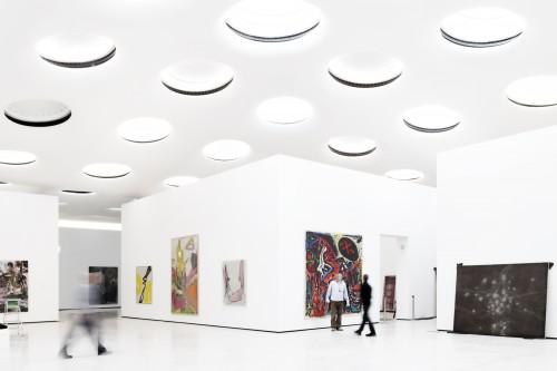 Không gian trưng bày các tác phẩm nghệ thuật lịch sử trong toà nhà cổ từ năm 1878.