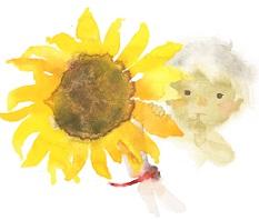 """""""Hoa hướng dương và em bé"""" (1971)"""
