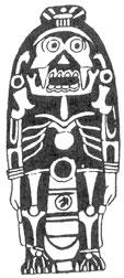 Thần tượng bằng đá. Nghệ thuật Maya