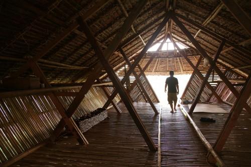 cách bố trí nội thất của căn nhà 72 m2 đảm bảo không gian mở và thoáng mát