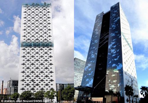Cùng đứng ở vị trí thứ 9 có 3 công trình bao gồm khách sạn Renaissance Barcelona Fira ở Barcelona, Tây Ban Nha