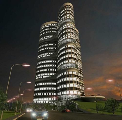 Đồng hạng 9 có tòa nhà Dumankaya Ikon ở Istanbul, Thổ Nhĩ Kỳ