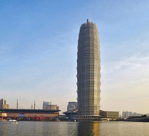 Cùng đứng ở vị trí thứ 9 là tòa nhà Trịnh Châu Greenland Plaza ở thành phố Trịnh Châu, Hà Nam, Trung quốc