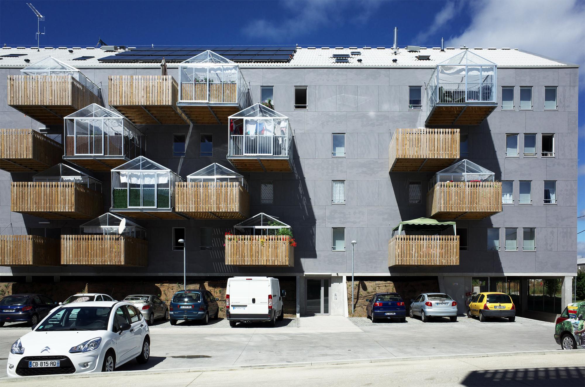 Đây là ví dụ cho thấy kích thước sử dụng của cộng đồng dân cư và từng cá nhân trong một khu nhà tập thể - Ảnh © Nicolas Pineau, Stéphane Chalmeau