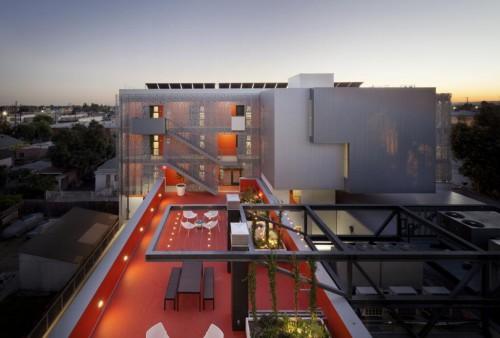 28th Street Apartments / Koning Eizenberg Architecture, Inc. / Mỹ