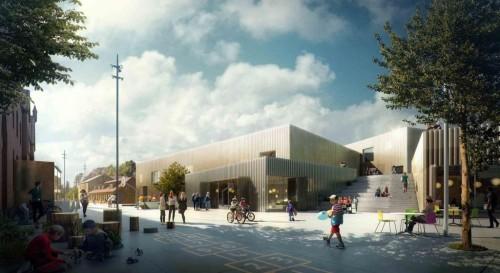 The Urban School in Elsinore / EFFEKT Rubow / Đan Mạch