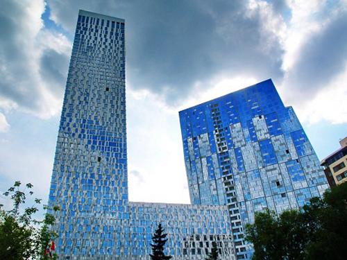 Đứng trong top 5 là tòa nhà Mosfilmovskaya ở thành phố Moscow, Nga