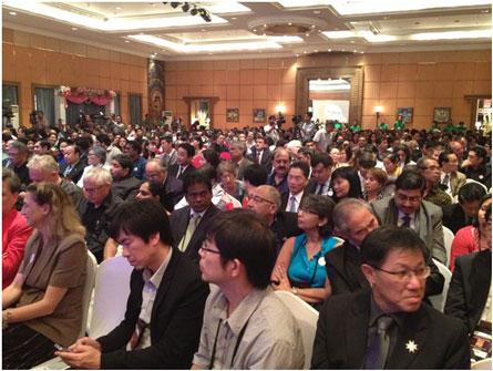 Hơn 500 đại biểu quốc tế và chủ nhà Nepal tham dự Diễn đàn ARCASIA 2013