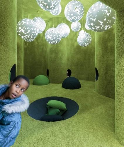 Phòng đọc trẻ em Ảnh © Tuomas Uusheimo