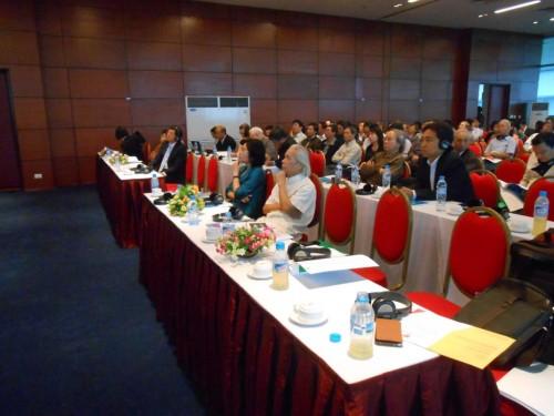 Các đại biểu tham dự đại hội