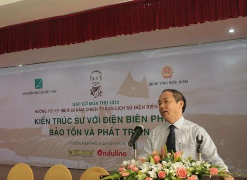 Ông Vũ Quang Các - Vụ trưởng vụ Kế hoạch - Bộ kế hoạch đầu tư