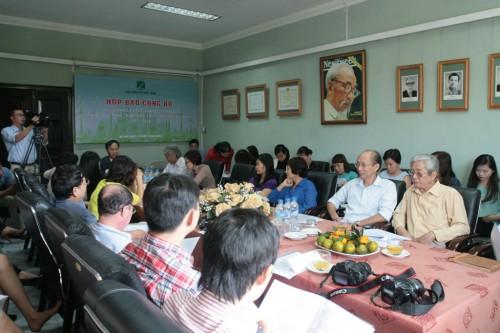 Buổi họp báo thu hút sự quan tâm của đông đảo cơ quan báo chí và truyền hình