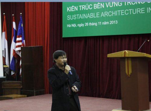 KTS Nguyễn Luận trình bày giải pháp cho dự án Plamingo Đại Lải