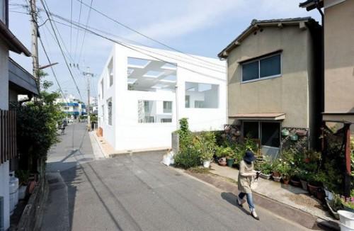 House N / Sou Fujimoto. Image © Iwan Baan