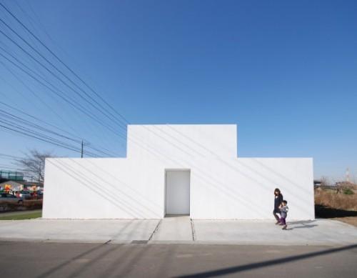 Library House / Shinichi Ogawa & Associates. Image Courtesy of Shinichi Ogawa & Associates