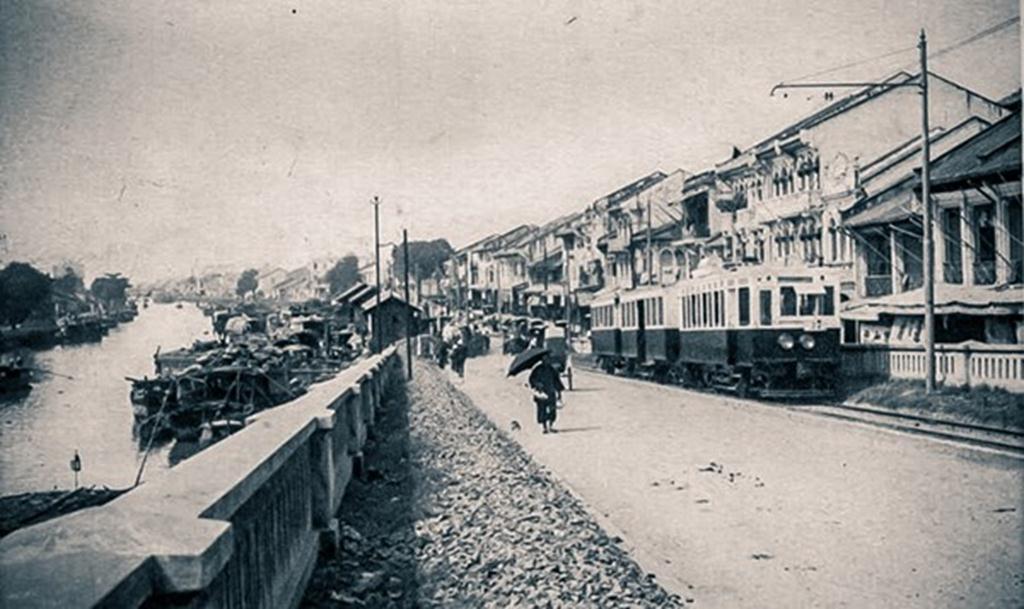 Hình ảnh kênh Tàu Hủ ngày xưa