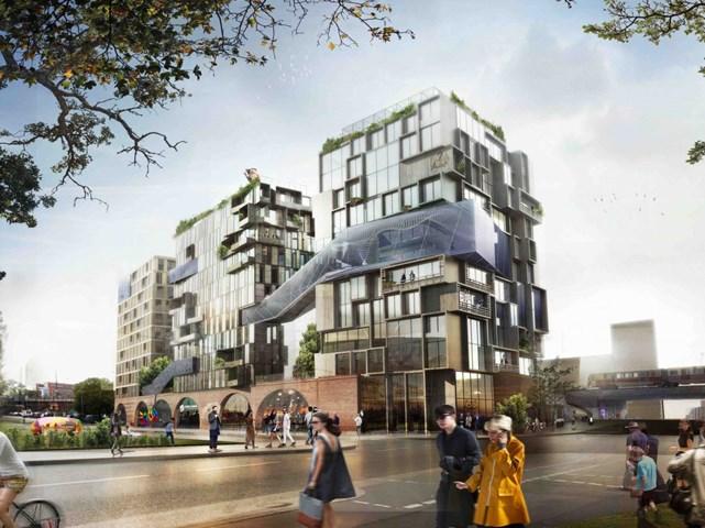 Eckwerk Berlin, Berlin, Đức, kiến trúc sư Kleihues + Kleihues Gesellschaft mbH von Architekten / Graft Gesellschaft mbH von Architekten, nhà phát triển Genossenschaft für urbane Kreativität được đề cử Dự án Futura tốt nhất