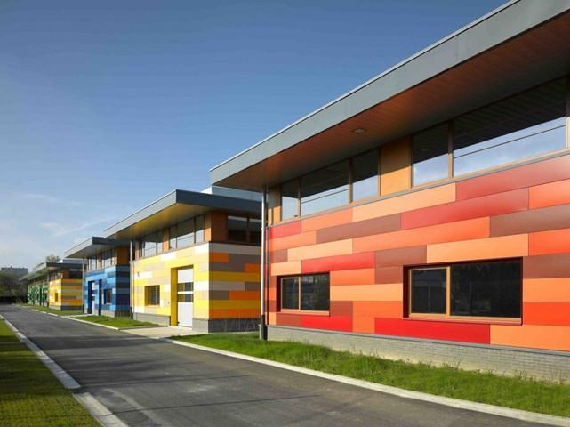 Parc PME Newton, Brussels, Bỉ do kiến trúc sư: DDS & Partners / BAEB thiết kế và do Citydev Brussels phát triển được đề cử Công trình công nghiệp và phát triển Logistics tốt nhất.