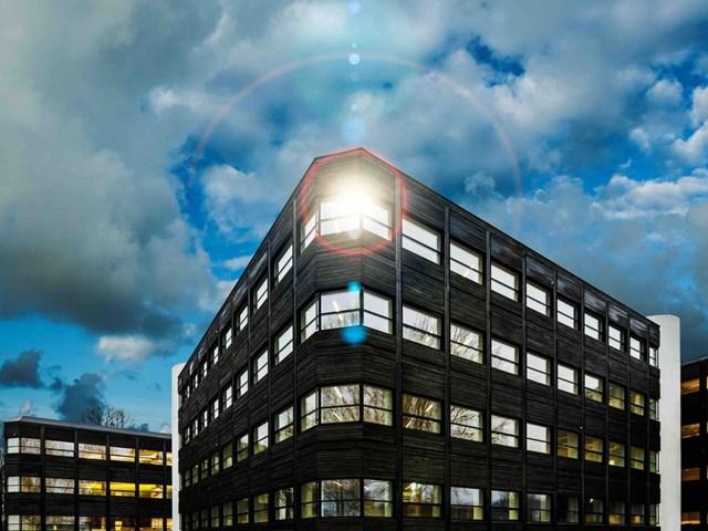 Powerhouse Kjørbo, Oslo, Na Uy do kiến trúc sư Snøhetta AS thiết kế và phát triển bởi Entra Asa nhận đề cử cho Kiến trúc xanh sáng tạo nhất.