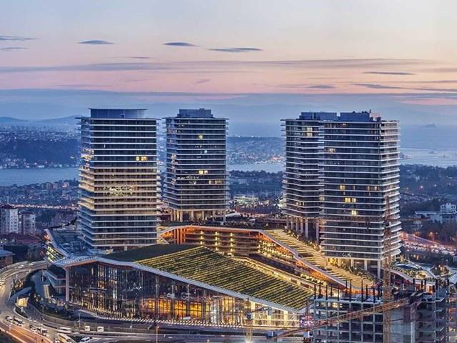 Raffles İstanbul Center Zorlu, Istanbul, Thổ Nhĩ Kì thiết kế bởi kiến trúc sư EAA / HBA và phát triển bởi Zorlu Yapi Yatirim nhận đề cử cho Công trình khách sạn và khu nghỉ dưỡng du lịch tốt nhất