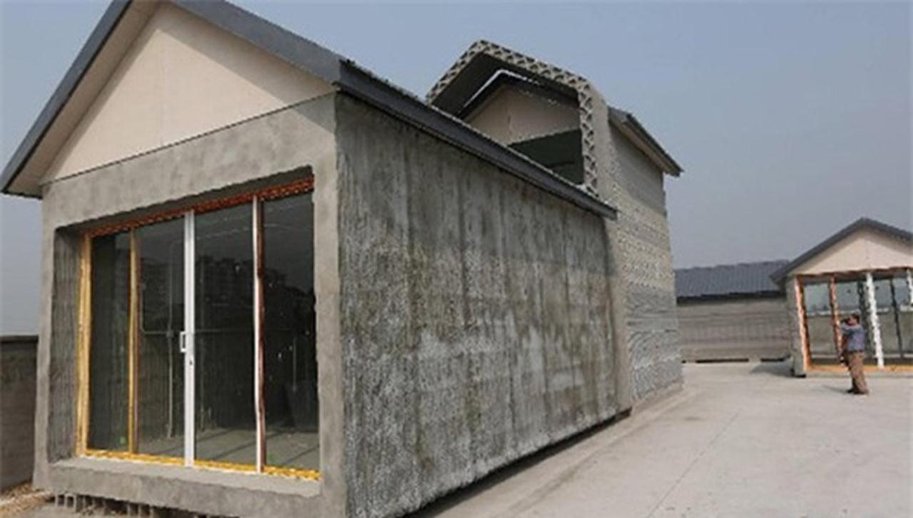 Ngôi nhà làm từ công ghệ 3D
