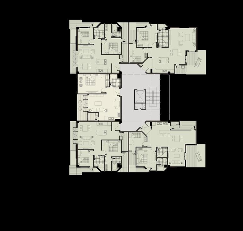 Mặt bằng tầng 3