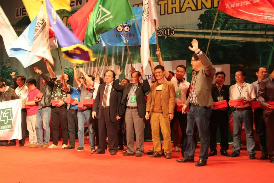 Liên hoan KTS trẻ lần 6 với sự tham gia của gần 1000 KTS đến từ mọi miền trên tổ quốc