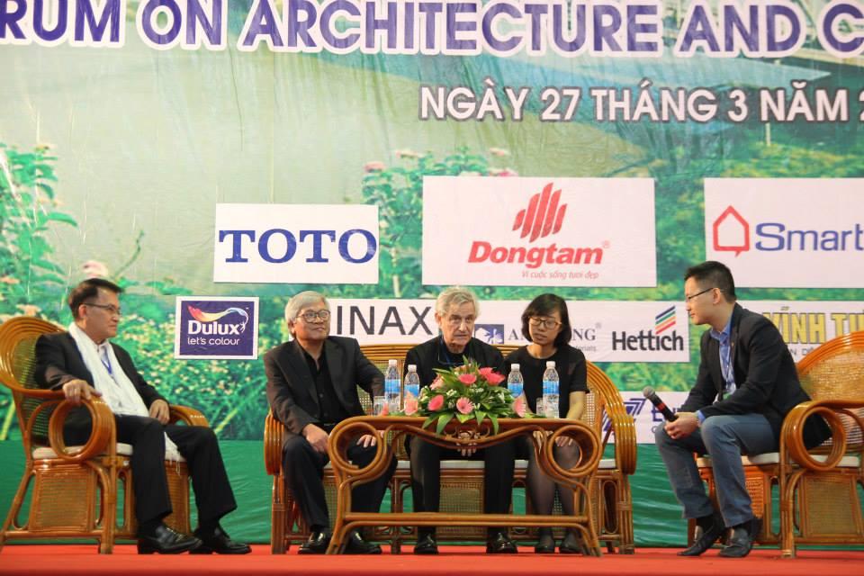 Liên hoan KTS trẻ năm nay có sự góp mặt của  những kiến trúc sư hàng đầu thế giới như KTS Salvador Perez Aroyo, các KTS bậc thầy như Hồ Thiệu Trị, Nguyễn Tiến Thuận.... và các KTS Trẻ trong nước và khu vực Đông Nam Á