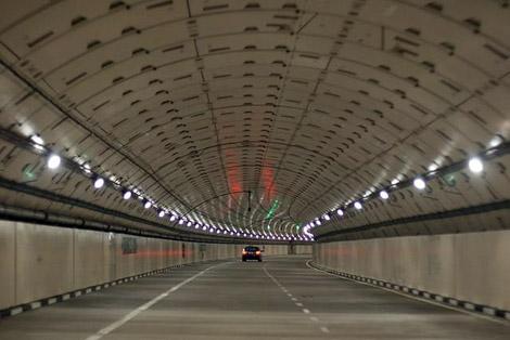 Hầm giao thông và điều tiết lũ (SMART) ở Kuala Lumpur (Malaysia).