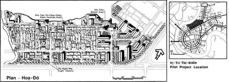 Thiết kế cho khu vực triển khai thí điểm. Nguồn: Wurster, Bernadi and Emmons Architects and Planners (1972)