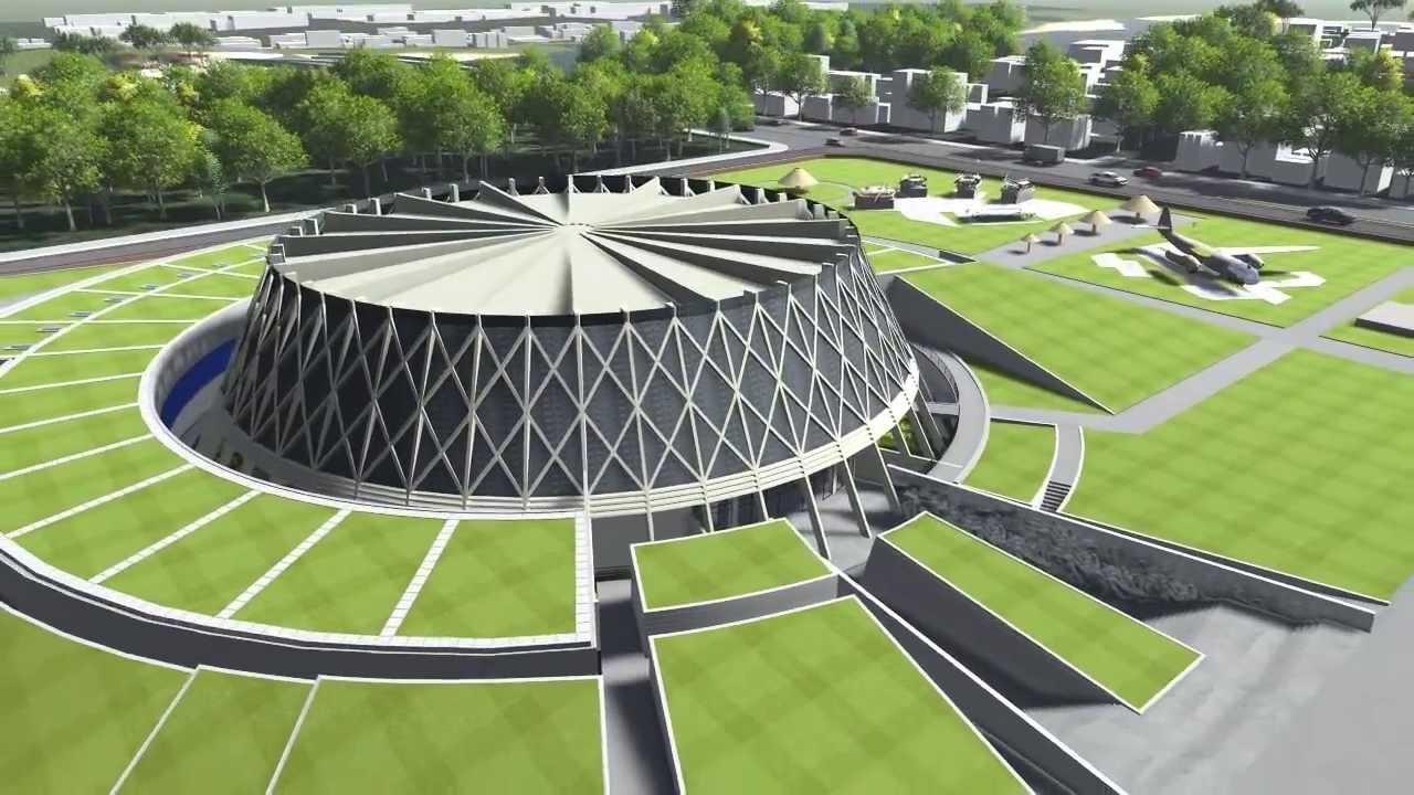 Công trình Bảo tàng Chiến thắng lịch sử Điện Biên Phủ / thiết kế: KTS Nguyễn Tiến Thuận (Ảnh: Internet)