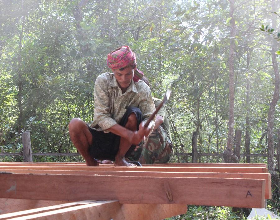 Người dân bản địa cũng chính là người thi công công trình