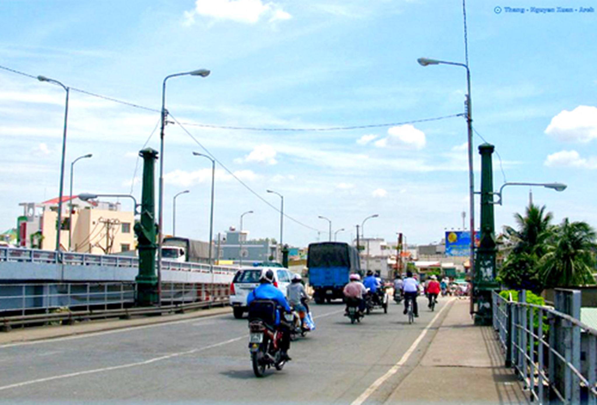 Cầu Nhị Thiên Đường 1: Ảnh: Panoramio.