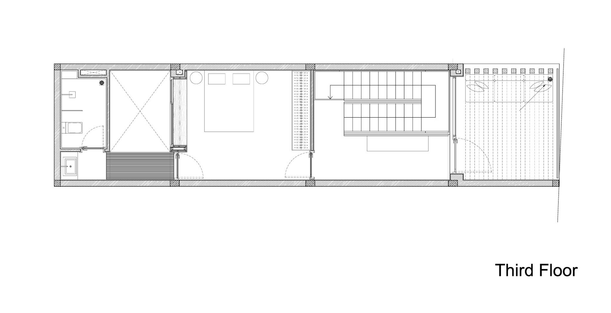 TOWN HOUSE WITH A FOLDING-UP SHUTTER- MM Architects-2 (Copy)