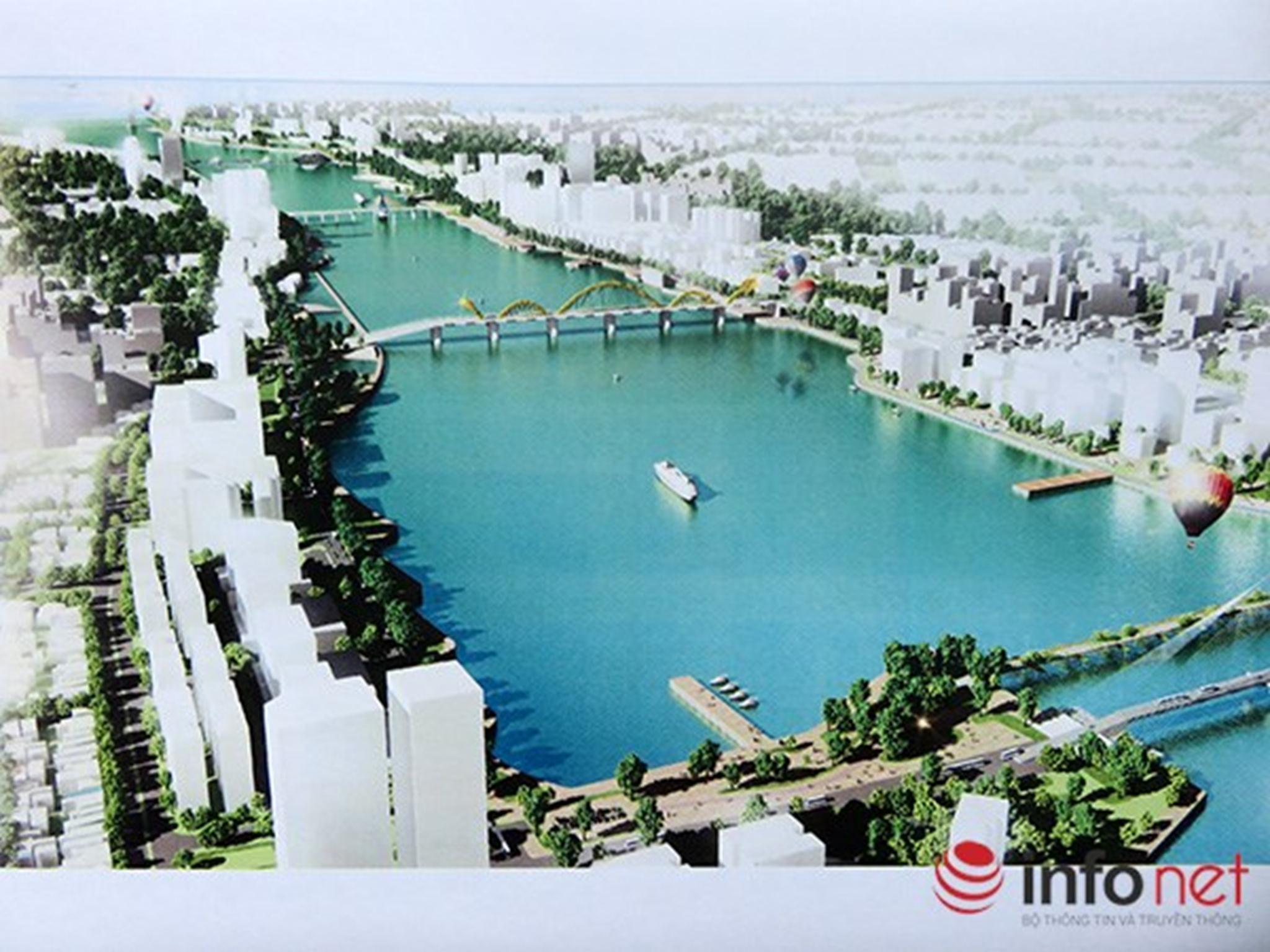 Phối cảnh quy hoạch công viên trung tâm trên cao ở bờ Đông sông Hàn  Xem thêm tại : http://www.danang43.com/da-nang-lay-y-kien-gioi-chuyen-mon-va-nguoi-dan-ve-quy-hoach-song-han-p4451.html