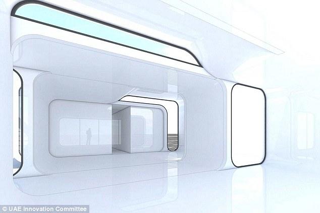 Nội thất tòa văn phòng đầu tiên trên thế giới bằng in 3D