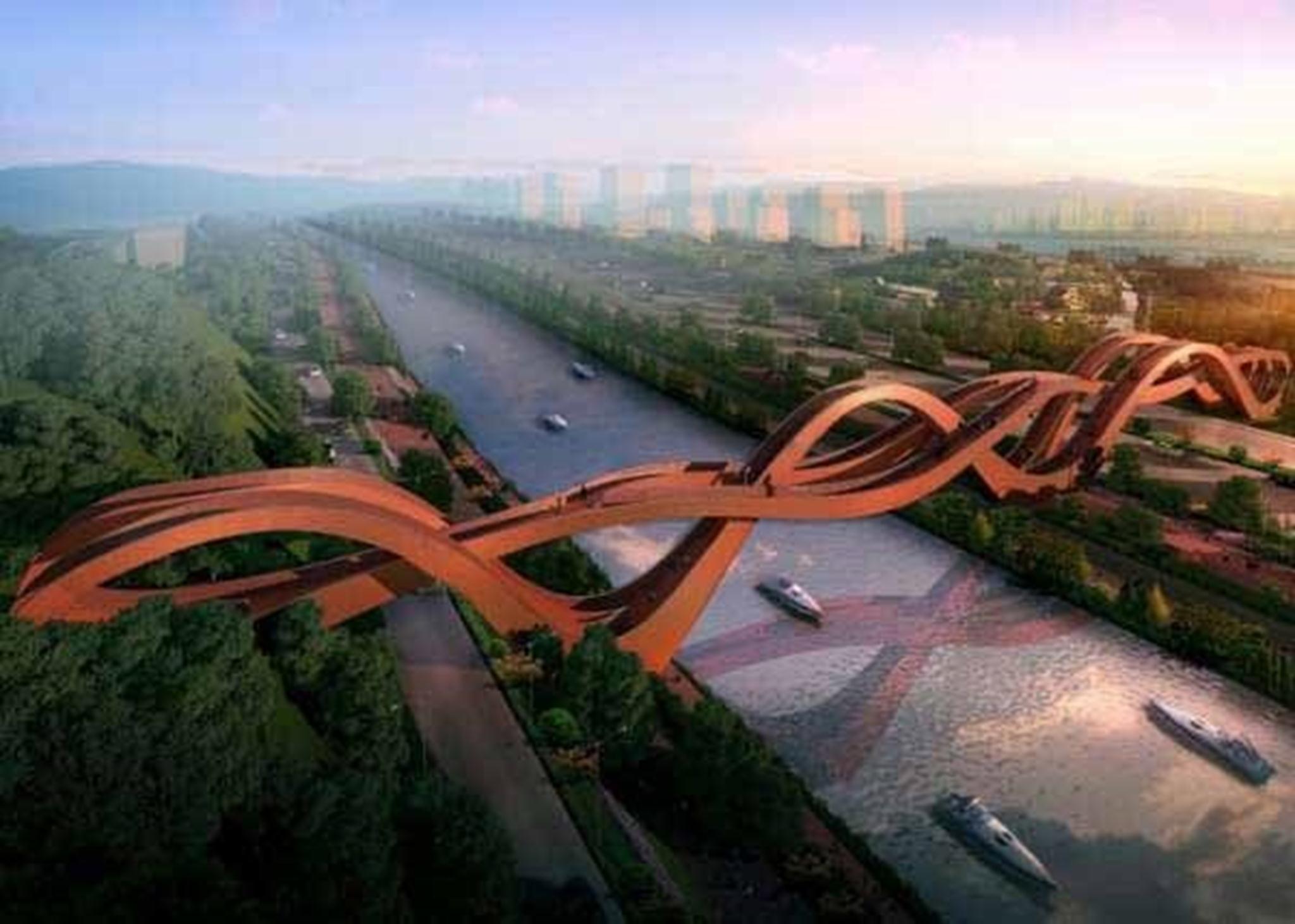 Cầu rồng King Kong, Trung Quốc